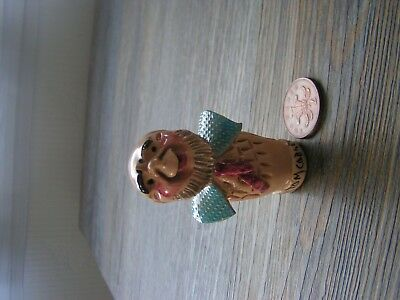 vintage? will young pottery uncle tom cobley bottle stopper (no cork)