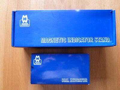 MOORE & WRIGHT Magnetic Indicator Stand + Dial Indicator (DTI) - BRAND NEW