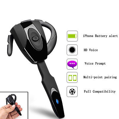Bluetooth wireless Ex-01 handset Headphone Earphones for sony playstation 3 ps3