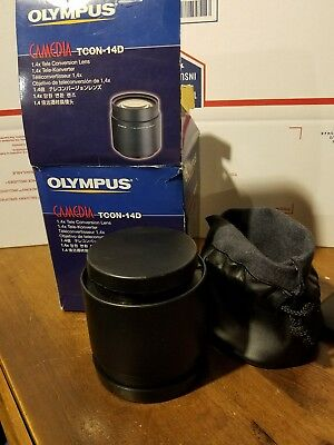 Olympus Camedia TCON-14D 1.4 Tele Conversion Lens