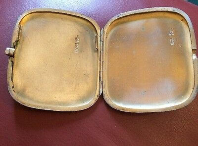 Solid Silver Samson & Mordon Hallmarked Cigarette/Card Case
