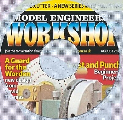 MODEL ENGINEERS WORKSHOP MAGAZINE 1 -165 DVD L@@k