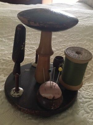 Darning Equipment In A Set