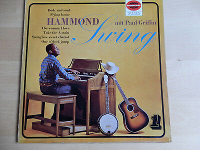 "LP  Paul Griffin  "" Hammond Swing """