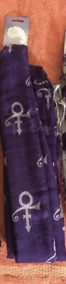 Prince 2017 Paisley Park London O2 Symbol Scarf Rare  New With Tags Mint