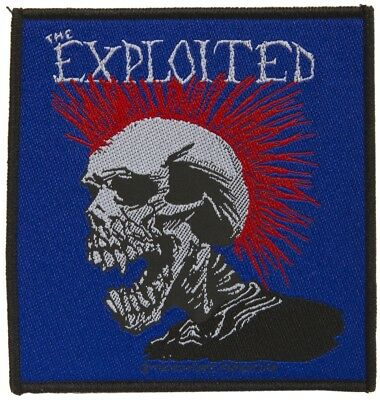 Parche bordado, borded patch, rock , metal - The Exploited , new