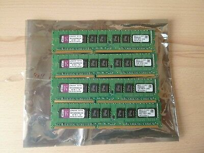 16GB 4x Kingston ValueRAM DIMM, DDR3-1333, CL9, ECC (KVR1333D3E9SK3/12G)
