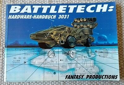 BATTLETECH: HARDWARE HANDBUCH 3031 DEUTSCH (Technical Readout)