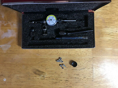 "Starrett No.711 ""Last Word"" Test Indicator Set .0005"" Resolution, Excellent"