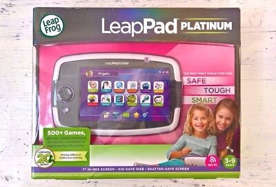 LEAPFROG 31566 - LeapPad Platinum Kids Learning Tablet Education, PURPLE ◕‿◕