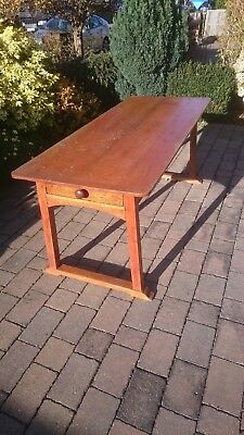 Solid Wood 6ft Refectory Table