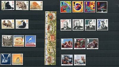 Great Britain 1995 28x Commemorative Stamps Set Mint Never Hinged - FREE UK POST