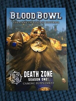 Blood Bowl - Death Zone Season 1 (englisch) - Games Workshop - Wie neu
