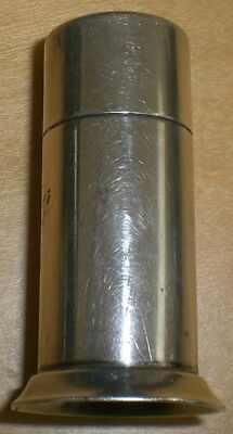 Tiffany & Co Makers sterling cylinder pill box
