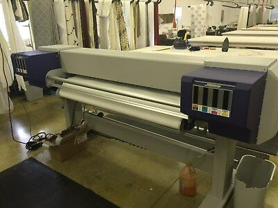 Used Mutoh ValueJet 1628TC-64 direct to fabric printer