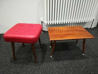 Vintage/retro Stool And Table