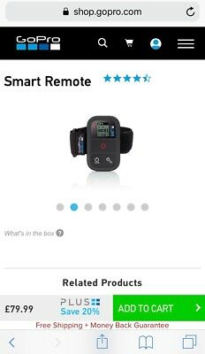 New Sealed - GoPro Smart Remote Control
