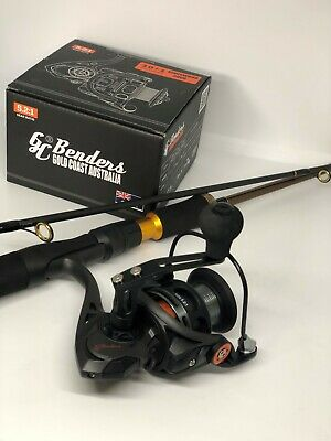 Carbon fishing rod 210 reel 3000 spin combo all-rounder GC Benders save RRP $199