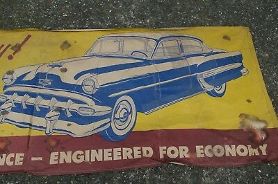 Chevrolet 1954 showroom banner