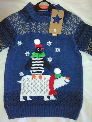 Childrens Boys Girls Christmas Jumper 18-24 mths Brand New with tags