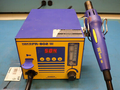 HAKKO FR-802 Digital SMD Hot Air Rework Station with Programming Key TESTED
