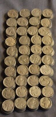 Lot Of 200 Buffalo Nickels Various Dates And Grades *high Quality*