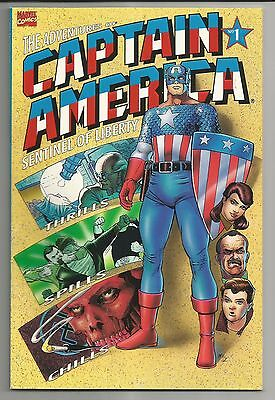 The Adventures Of Captain America #1 (1991) - Graphic Novel Format