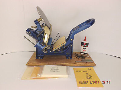 Kelsey 3x5 Model N Letterpress serial A80C - reconditioned & 100% print ready