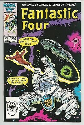 Fantastic Four #297 (1986) - Set The Controls For The Heart Of The Sun