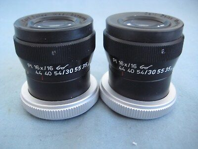 Zeiss Opmi Pl 16 X 16 Surgical Microscope Eyepieces