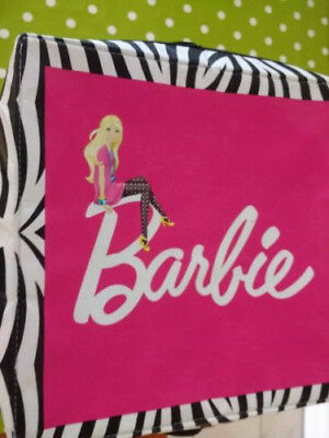Barbie Zipbin Storage Box & Playmat