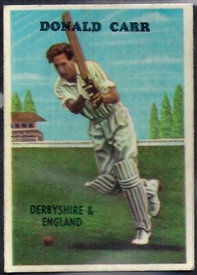 A&bc-Cricket Ers 1959-#05- Derbyshire - Donald Bryce Carr