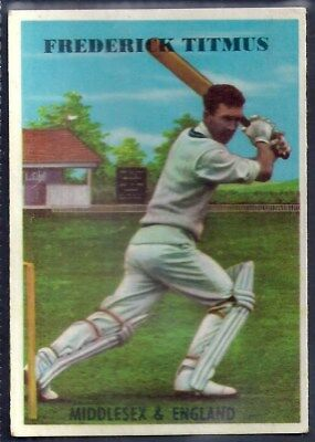 A&bc-Cricket Ers 1959-#18- Middlesex - Frederick John Titmus