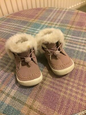 Clark's Baby Girl Shoes Size 4F
