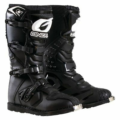 2018 Oneal MX Boots RIDER Adults Mens Motocross Dirtbike Offroad - Black