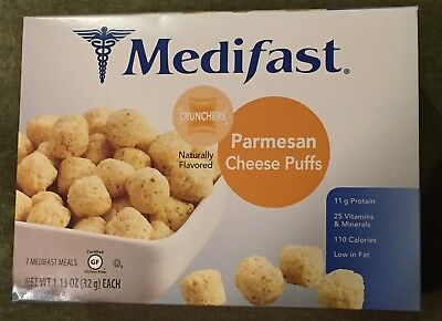 Medifast Parmesan Cheese Puffs. GREAT CRUNCHERS! 4 Bags. New. NOT EXPIRED! L@@K!