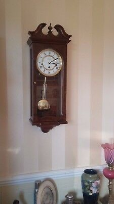 ****Quality**** 8 Day Comitti Westminster Chime Regulator Clock in Burr Walnut