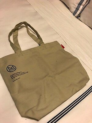 Monocle Magazine Subscriber Only Heavy Canvas Tote Bag (Khaki)