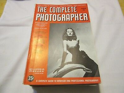 14 Consecutive Issues Of The Complete Photographer Magazine Issue 35 - 48, 1942