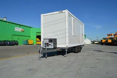 Portable Building on Wheels, Chassis Mounted, Heavy Duty, Toilet/Shower, Rego