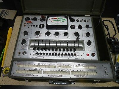 Precision Model 10-60 Tube and Transistor Tester