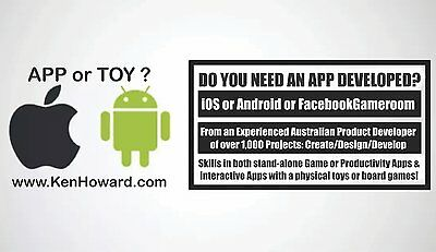 Develop smartphone software game App for Android / iPhone by Australian designer