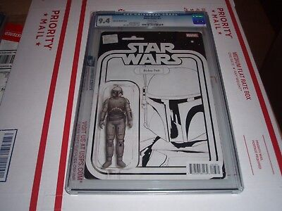 Star Wars #7 Cgc 9.4 (Boba Fett Action Figure Sketch Cover)