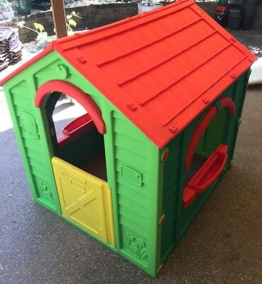Kids Plastic Cubby House
