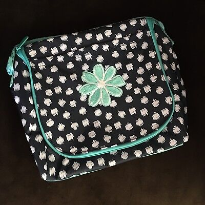 Thirty One 31 Going Places Thermal Navy Doodle Dot NEW