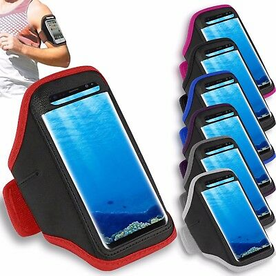 Prime Gym Sports Armband Running Jogging Workout Holder For Samsung Galaxy S8+