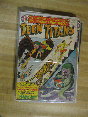 Teen Titans #1, key, 1st issue in own series