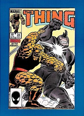The Thing #24 (June 1985) Vf/nm Fantastic Four