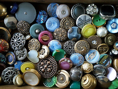 BEST 72 Antique Button Collection*All CHOICE Picks Top Condition Excellent. WOW!