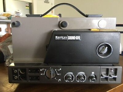 Projector Heaven   Sankyo Sound 600, Super 8 Sound Movie Projector, Serviced A1